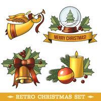 Set di icone di Natale