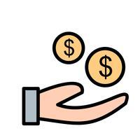 Icona del compratore vettoriale