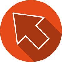 Icona del cursore vettoriale