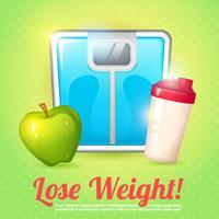 Dieta poster di peso