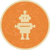 Icona di vettore del robot
