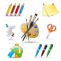Set di strumenti di pittura