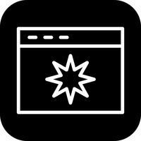 Icona di qualità pagina vettoriale