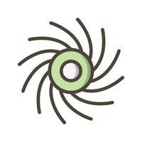 Icona di vettore del buco nero