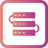 Icona di vettore server