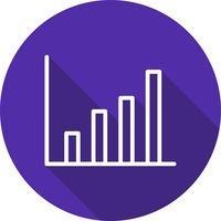 Icona di statistiche vettoriali