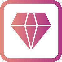 Icona del diamante vettoriale