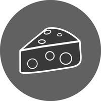 Icona di formaggio vettoriale