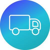 Icona del camion di vettore