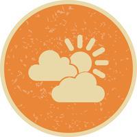 Icona di vettore di sole