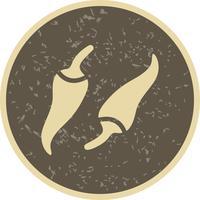 Icona del pepe di vettore