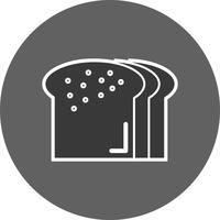 Icona del pane vettoriale