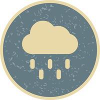 Icona di vettore di pioggia