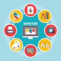 Icone del design grafico