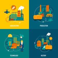 Set di fabbrica piatto