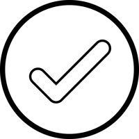 Icona del segno di spunta