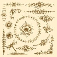 Elementi decorativi d'epoca