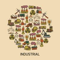 Set di schizzo industriale