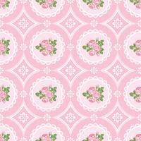 Fondo senza cuciture rosa squallido di Shabby