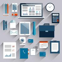 Set di articoli aziendali