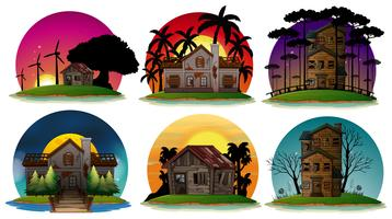 Una serie di Haunted House