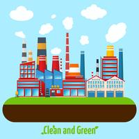 Manifesto di industria verde vettore