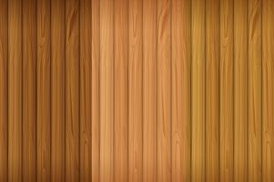 Una tavola di legno vuota vettore