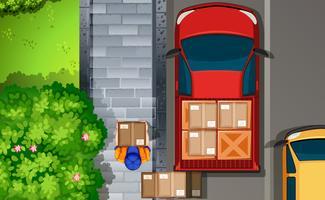 Consegna vettore