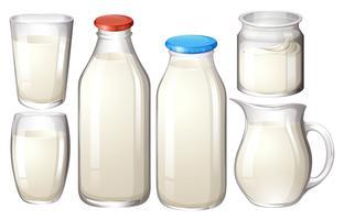 Latte fresco vettore