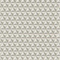 Triangoli astratti 3D su sfondo chiaro, illustrazione vettoriale