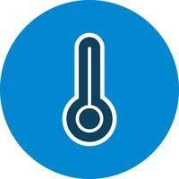 Icona di vettore di temperatura