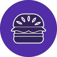 Icona di vettore di hamburger