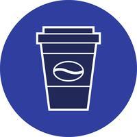 Icona del caffè vettoriale