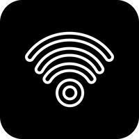 Icona di vettore di Wifi