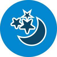 Luna e stelle Vector Icon