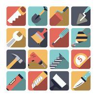 Icone degli strumenti di riparazione domestica