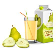 Set di succo di pera