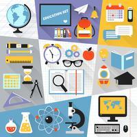 Set piatto di educazione