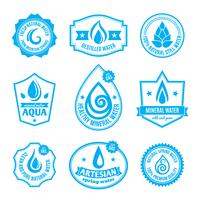 Etichetta dell'acqua