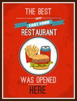 Poster hot dog