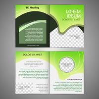 Modello di progettazione brochure vettore