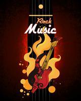 Poster di musica rock