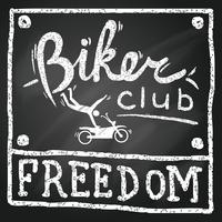 poster del club di motociclisti