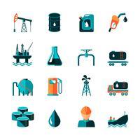 Icone dell'industria petrolifera