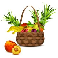 Frutta nel carrello