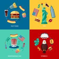 Set piatto USA