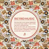 Poster di musica retrò