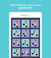 Tocca i gesti sullo smartphone