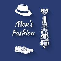 Uomo di concetto di vestiti vettore