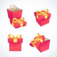 Icone di casella e pacchetto